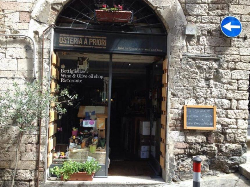 osteria a priori perugia, locale dove assaporare i piatti della tradizione umbra