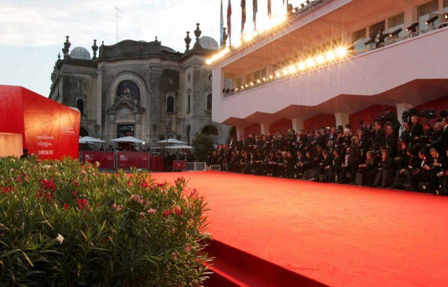 red carpet della Mostra internazionale d'arte cinematografica di venezia