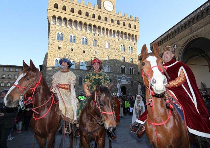 Cavalcata dei Re Magi a Firenze