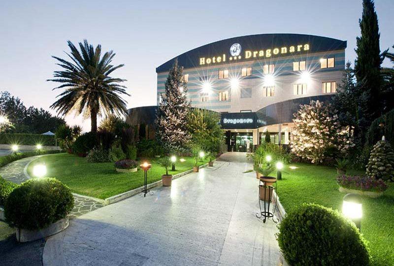 Ristorante Hotel Dragonara esterno.